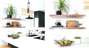 etagere de cuisine murale idee etagerehtml etagere deco cuisine cuisine boheme chic noir