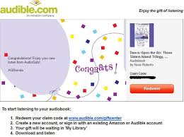 How To Redeem An Audible Gift