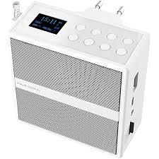 vr radio badradio steckdosenradio mit dab fm bluetooth usb freisprecher akku 6 w badradio dab