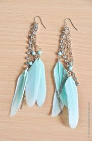 Best 25+ Feather Earrings Ideas On Pinterest | Native American ... How To Make Pearl Bridal Necklace With Silk Thread Jhumkas Quiled Paper Jhumka Indian Earrings Diy 36 Fun Jewelry Ideas Projects For Teens To Make Pearls Designer Jewellery Simple Yet Elegant Saree Kuchu Design At Home How Designer Earrings Home Simple And Double Coloured 3 Step Jhumkas In A Very Easy Silk Earring Bridal Art Creativity 128 Jhumka Multi Coloured Pom Poms Earring Making Jewellery Owl Holder Diy Frame With