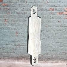 blank longboard deck