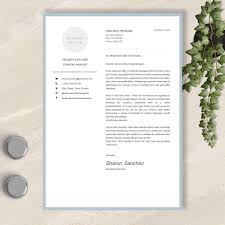 Word And Pages Resume CV Template Cover Letter References Page No