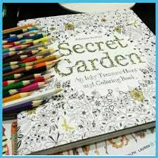 Secret GardenColoring Book Painting Drawing For Children Adult Relieve Stress Relax An