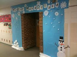 Kindergarten Winter Door Decorations by Winter Wonderland Classroom Door Decor Love This Classroom