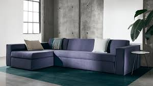 100 Modern Sofa Designs Pictures GIANNI Sleeper Sectional Clean Modern Sofa Design Hides A