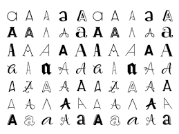 Letters Pattern by Ray of Light Design Dribbble