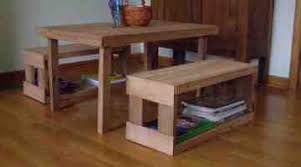 For Kids Kidus Table And Chair Set Her Tool Belt Benches Made From Pallets Childrenus