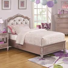 Value City Twin Headboards by Coaster Caroline Twin Size Bed And Diamond Tufted Headboard
