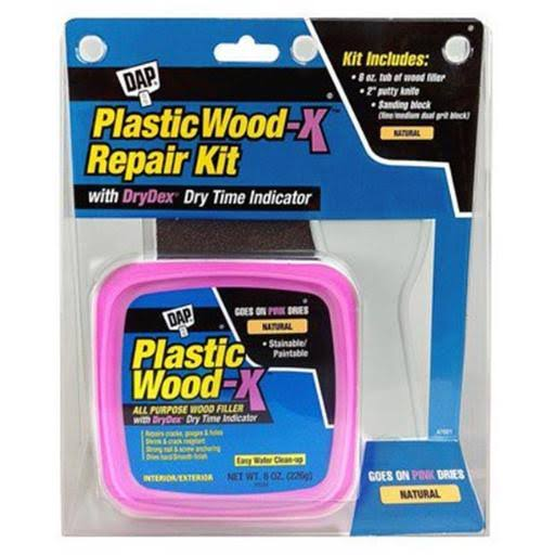 Dap 00596 DAP Plastic Wood-X Repair Kit - 8oz