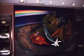 Denver International Airport Murals Removed by Details Of Murals In New Denver Airport