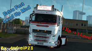 100 Euro Truck Simulator Cheats Extra Fast Level Up Mod By AndreiP23 Mod For ETS 2