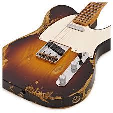 Fender Custom Shop 1953 Heavy Relic Telecaster 2 Tone Sunburst