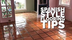 best sealing tip for saltillo tiles