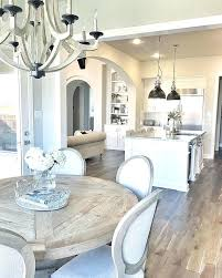 Round Kitchen Tables Attractive Dining Room Table Decor With Best Ideas On
