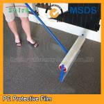 Custom Plastic Floor Covering Roll Protective Film For Carpets