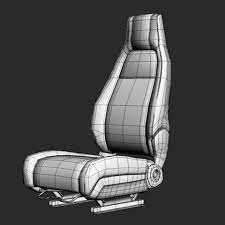 100 Car Seat In Truck Seat Seat 1 3D Model 40 Max 3ds Free3D