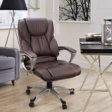 Walmart Swivel Chair Hunting by High Back Office Chair Pu Leather Executive Ergonomic Swivel Lift