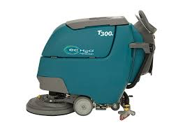 Tennant Floor Scrubber T3 by T300 T300e Wide Cleaning Walk Behind Scrubbers Tennant Company