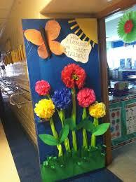 classroom door decorations for spring classroom door decorations
