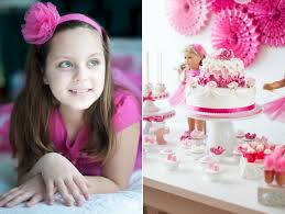 This Sweet American Girl Party Includes Everything Little Girls Dream A Is About Friendship Make Up Nails Spa Delicious Treats Pink