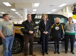 Local Man Wins Truck Through Ford's 'Toughest Truck' Sweepstakes ... Build Your Tundra Sweepstakes Julies Freebies Stabil 360 Custom Car Winner Presentation Cool Jasons Story The Of Knapheides Winatruck Win That Ford Mustang Sweeptsakes Mungenast St Louis Honda Enter The Camp Ridgeline Bangshiftcom Classic Liquidators Upgrade Brakes On A 1971 C10 Chevy Pickup Truck Cabelas Announces More Winners Fifty Years Trucks Horsepower Pitvsind Youtube Monster Trucks Merchandise Nra Blog Truck Raffle Receives Prize