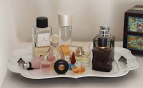 Using A Tray To Organise And Corral Perfume Botttles