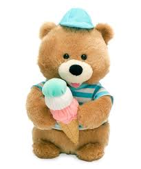 Scoops Bear Animated Plush Toy