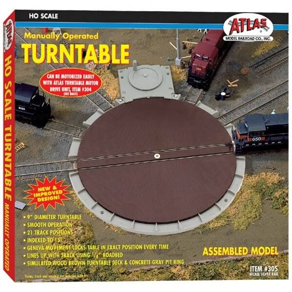 Atlas - Manual Turntable - HO