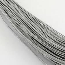 drähte fäden bänder purple waxed cotton cord 10m x 1mm