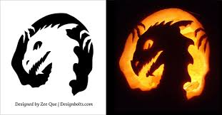 Easy Pumpkin Trace Patterns by 5 Free Scary Halloween Pumpkin Carving Patterns Stencils U0026 Ideas