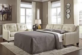 Levon Charcoal Queen Sofa Sleeper by Sleepers