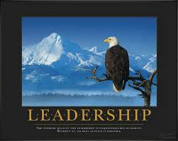 Leadership Eagle Branch Motivational Poster
