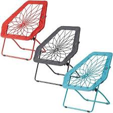 Bunjo Bungee Lounge Chair by The Bunjo Hex Chair Features A Metal Frame With Real Nylon Bungee