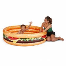 Cheeseburger Kiddie Pool