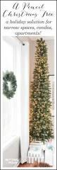 75 Ft Slim Christmas Tree by Best 25 Pencil Christmas Tree Ideas On Pinterest Skinny