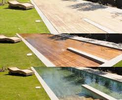Wooden Deck Transforms Into Swimming Pool | Wooden Decks Aquascape Pools Full Gallery Aquarium Beautify Your Home With Unique Designs Custom Crafted Swimming Pool Hot Tub Service Sheer Descent Waterfall Into Swimming Pool Water Features Aqua Scape Pools Ideas Pinterest And Freeform Spa With Custom Rock Design Aquascape Groundbreakers Group Inc 188 Best Images On Aquascapes Llc Temple City Ca Contractor