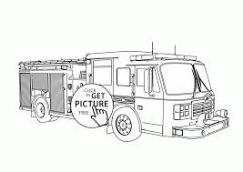 Real Fire Truck Coloring Page For Kids, Transportation Coloring ...