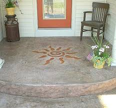 58 best patio painted concrete slab images on floors