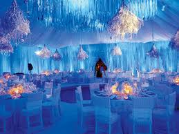 Nice Silver And Blue Wedding Decorations The Specialiststhe