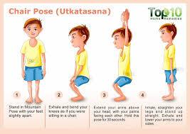 Chair Pose For Yoga Utkatasana