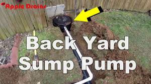 How To Install A Back Yard Sump Pump - YouTube French Drain Apple Drains Fix It Sump Pump Discharge Causes Slippery Sidewalk Water Drainage Archives South Jersey Drainage Water Solutions Omaha Ideal Renovations Full Size Of Backyard Pump Smokers For Sale Deck And Thurston County Paver And System Installation Ajb Downspout Idea Ideas Pinterest How To Install A 13 Steps With Pictures Wikihow Average Cost Page 2 Solving Problems Reflections From Wandsnider Landscape
