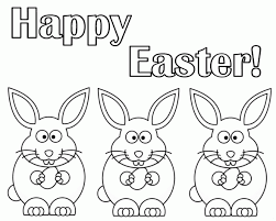 Happy Easter Coloring Pages 2017 For Toddlers Preschoolers