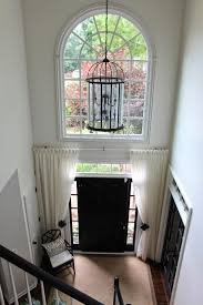 Front Door Sidelight Curtain Rods by This Is So Pretty Love The Way It Looks Great Way To Do Away