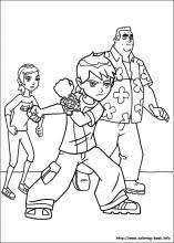 Games B Web Image Gallery Ben 10 Coloring Pages