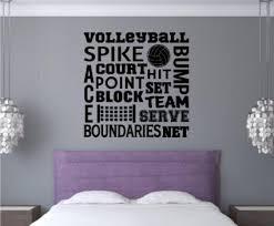 Amazon Com Personalized Brilliant Volleyball Bedroom Decor