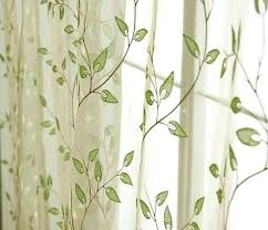 Sheer Voile Curtains Uk by Green Patterned Curtains U2013 Teawing Co