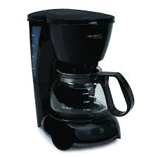 Mr Coffee Simple Brew Switch Maker 4 Cup Black TFS Series