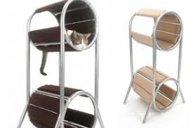 modern cat tower modern and contemporary cat furniture coolpetproducts