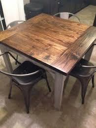 pallet wood table made by my wonderful husband metal carlisle
