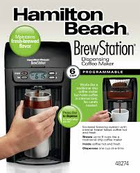 BrewStationR 6 Cup Coffee Maker Black 48274